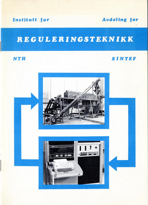 SINTEF brosjyre 1971